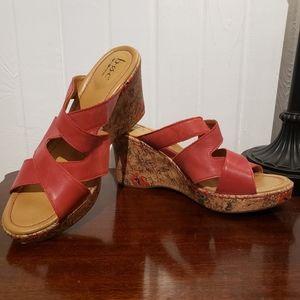 💟 B.O.C Born Concept Wedge Sandals